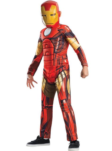 Iron Man costume for a boy - Avengers Assemble