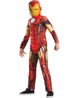 Fato de Homem de Ferro Vingadores Secretos para menino