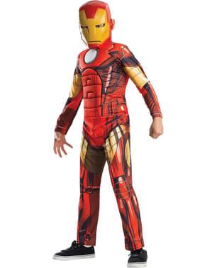 Iron Man från Avengers Assemble maskeraddräkt för pojkar
