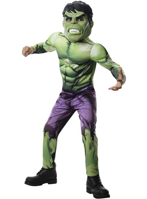 Hulk Avengers Assemble costume for a boy