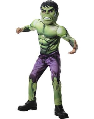 De Hulk The Avengers Assemble Kostuum voor jongens