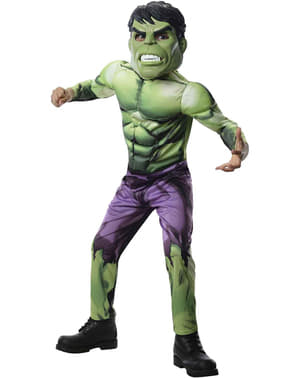 Hulk Avengers Assemble costume for a boy