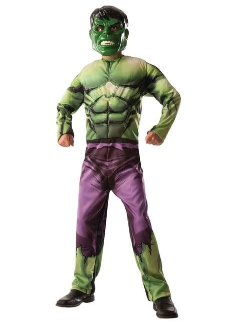 Costume da Hulk - Capitan America double face da bambino