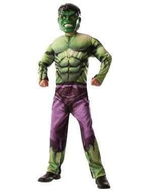 Vendbart Hulk - Captain America kostume til drenge