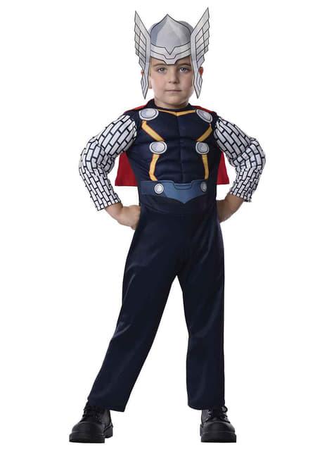 Thor Avengers幼児のための衣装を組み立てる