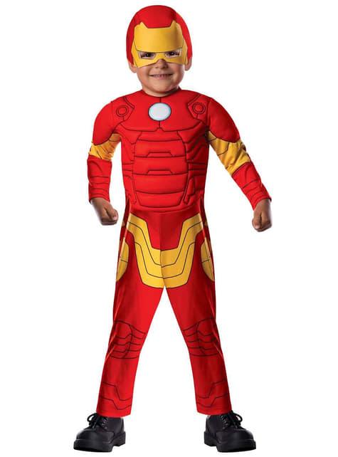 Fato de Homem de Ferro Vingadores Secretos para bebé