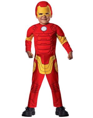 Iron Man Avengers Assemble Kostyme for Småbarn