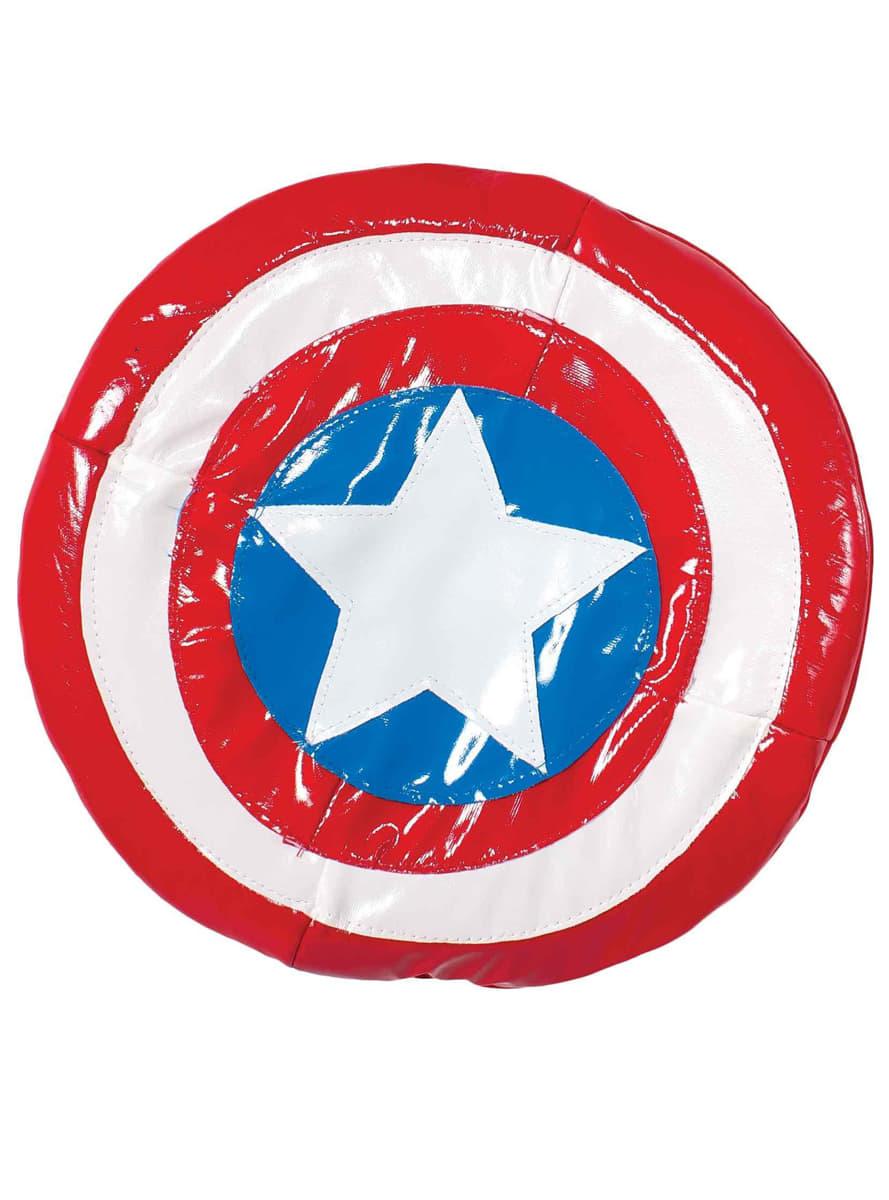 captain america schild f r kinder weich the avengers f r kost m funidelia. Black Bedroom Furniture Sets. Home Design Ideas