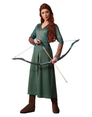 Costum Tauriel The Hobbit Dezolarea lui Smaug pentru femeie