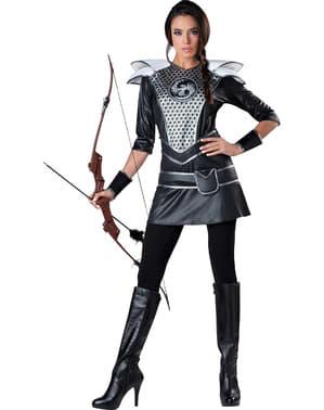 Katniss-metsästäjätär-asu naisille