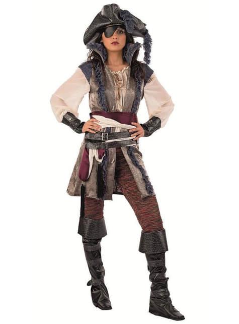 Fato de Pirata corsária de luxo