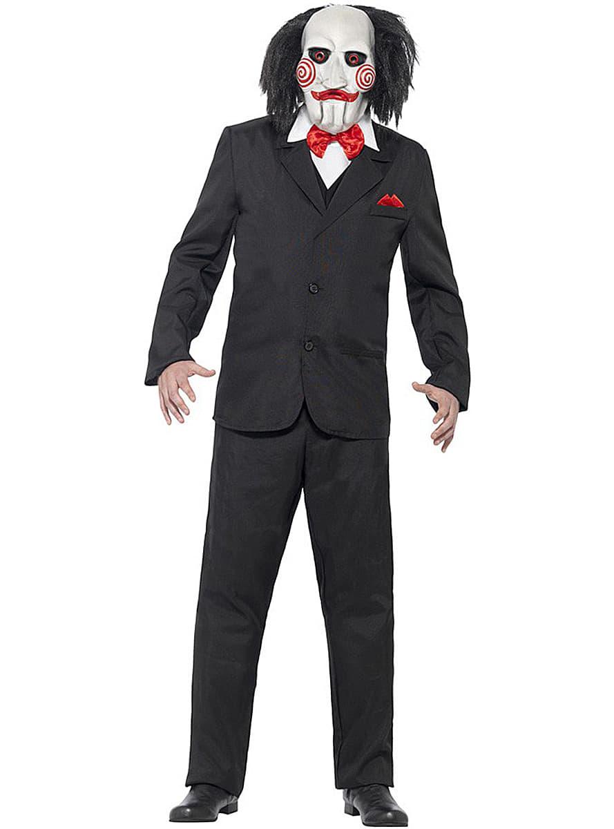 Disfraz De Jigsaw Saw Para Adulto Comprar Online En