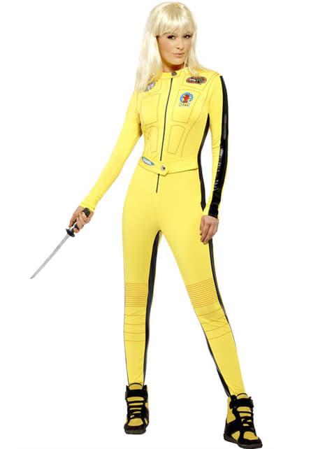 Disfraz de Kill Bill para mujer