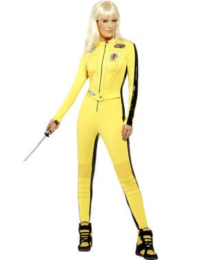 Kill Bill kostyme dame