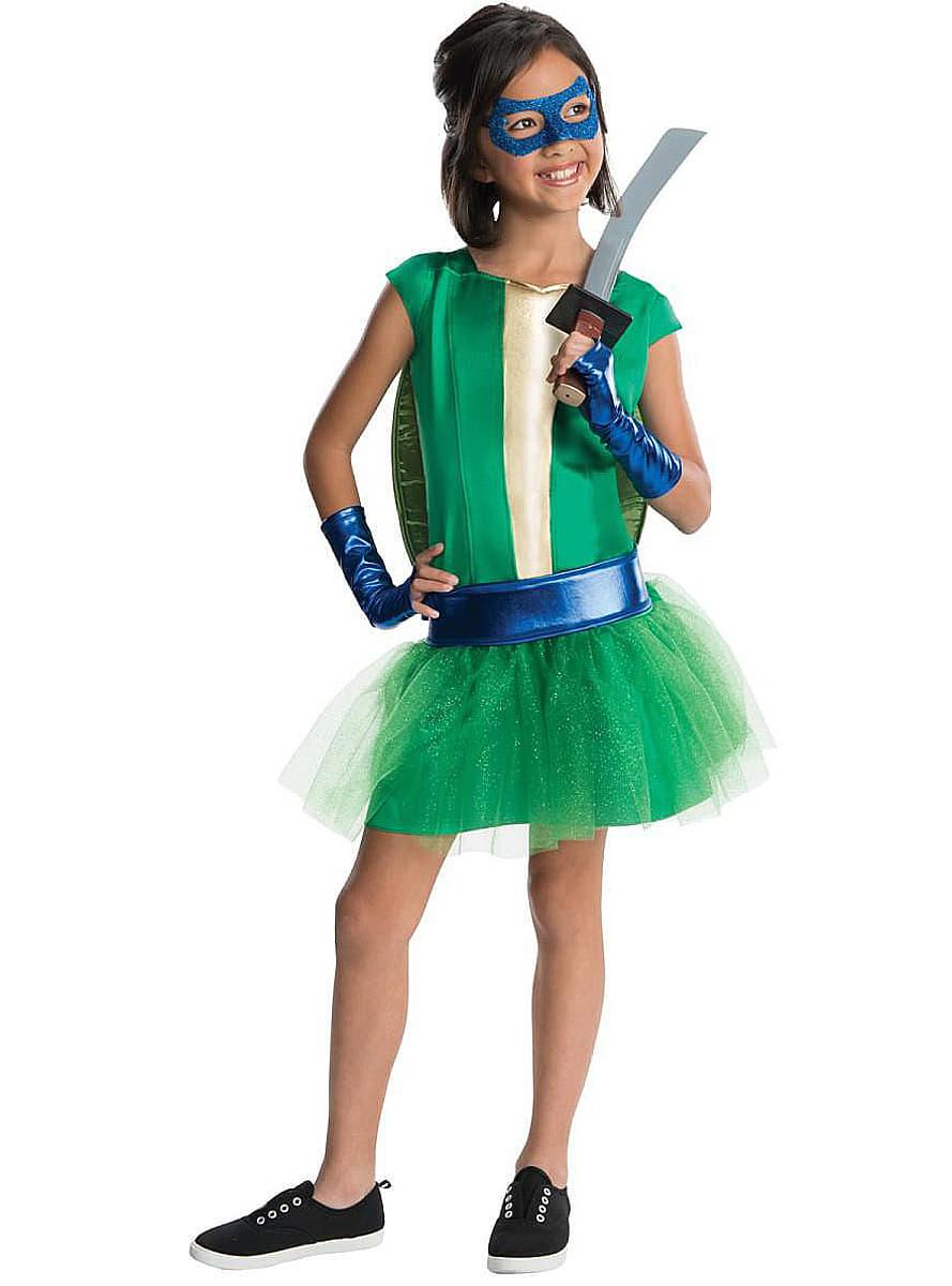 Costume leonardo tortues ninja luxe pour fille acheter en ligne chez funidelia - Leonardo tortues ninja ...