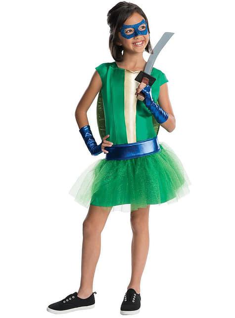 Черепахи Леонардо ніндзя люкс костюм для дівчини