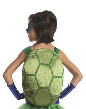 Disfraz de Leonardo Tortugas ninja deluxe para niña