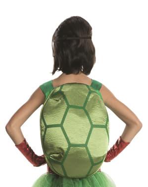 Disfraz de Raphael Tortugas ninja deluxe para niña