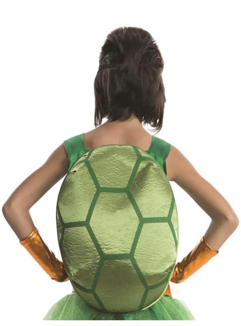Michelangelo Ninja Turtles luxus jelmez egy lánynak