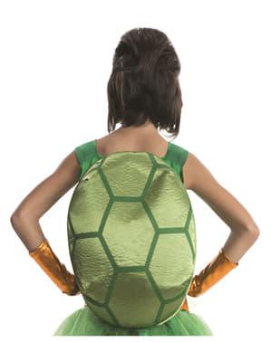 Ninja Turtles Michelangelo deluxe kostume til piger