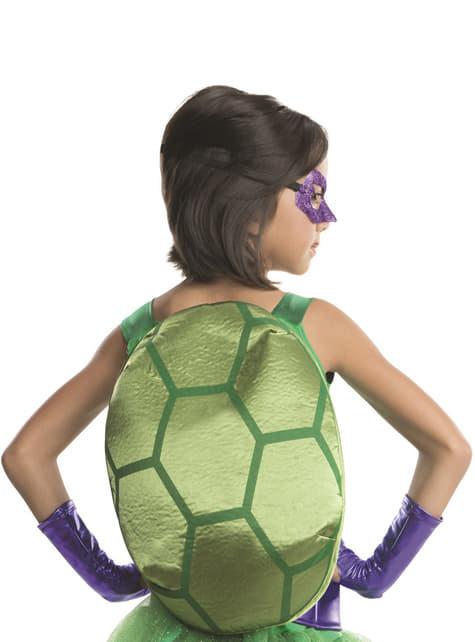 Donatello Ninja Turtlesデラックスコスチューム女の子用