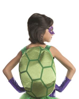 Costume da Donatello Tartarughe Ninja deluxe da bambina
