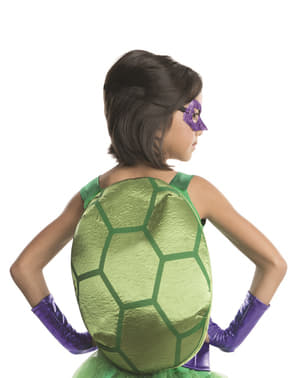 Костенурките на Донатело Нинджа са луксозни костюми за момиче