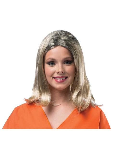 Peluca Piper Chapman Orange is the New Black