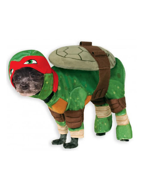Raphael Ninja Turtles costume for a dog