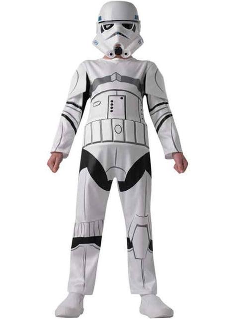 Disfraz de Stormtrooper para niño