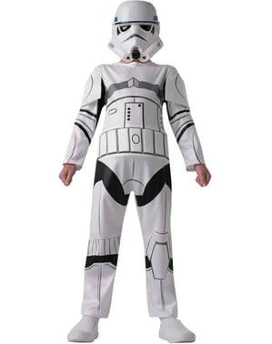 Stormtrooper costume for a boy