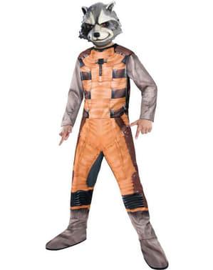 Guardians of the Galaxy Raccoon Maskeraddräkt Barn