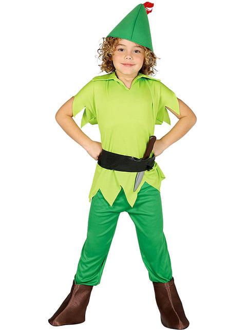 Peter Pan Maskeraddräkt för pojke