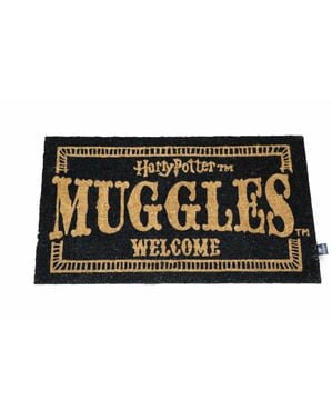 Harry Potter Muggles Welcome dørmåtte 73 x 43 cm
