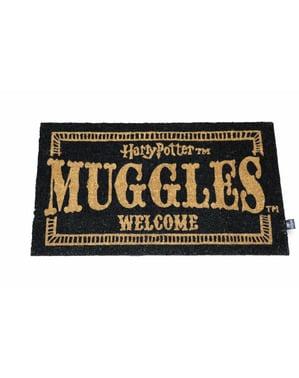 Tepih za vrata dobrodošlice Harry Potter Muggles 73 x 43 cm
