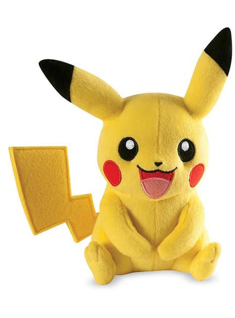 Pikachu stuffed toy