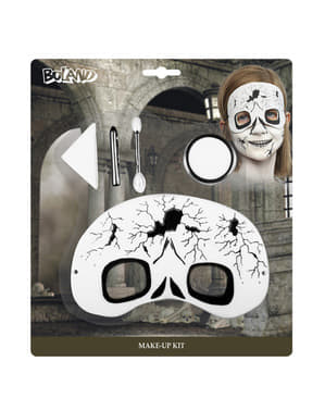 Machiaj și mască fantomă pentru copii