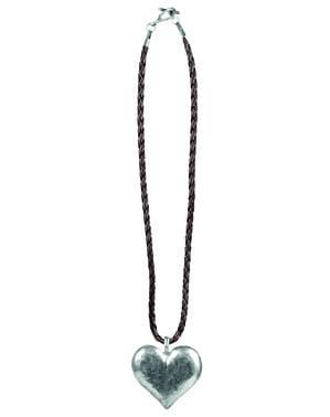שרשרת אוקטוברפסט בצורת לב