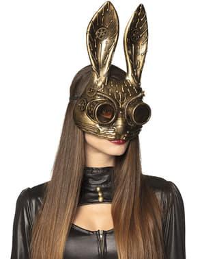 Antifaz Steampunk de conejo