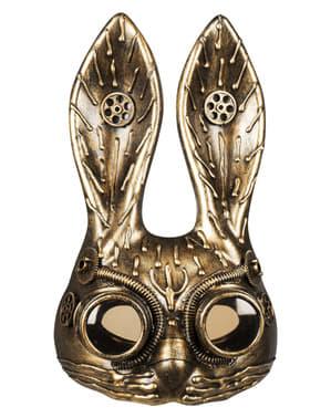 Maschera Steampunk di coniglio