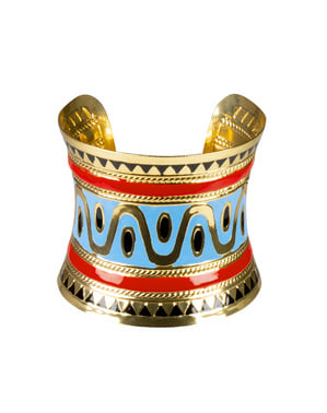 Bracelet Cléopâtre avec dessins égyptiens