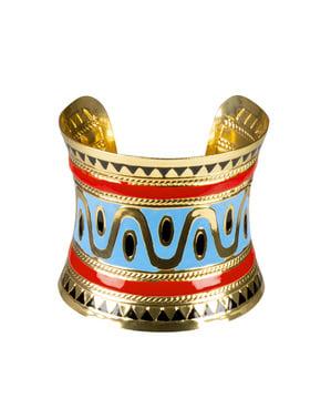Kleopatra Armband mit ägyptischen Zeichnungen