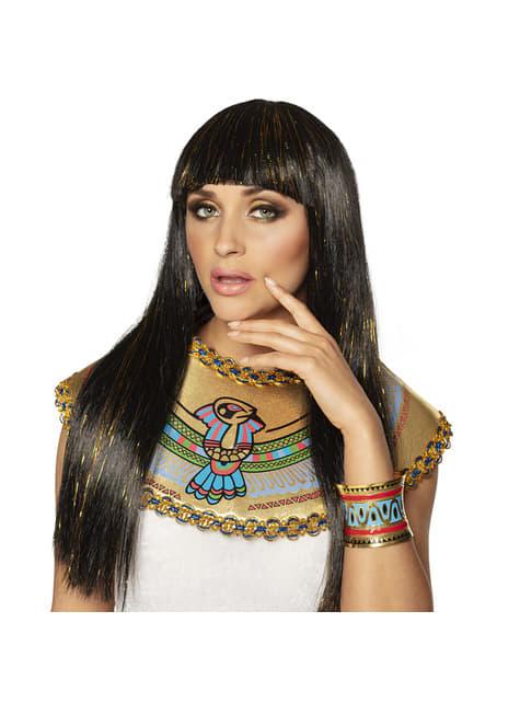 Brazalete de Cleopatra con dibujos egipcios - original