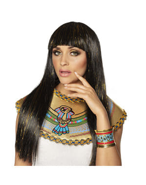 Bracelete de Cleópatra com desenhos egípcios