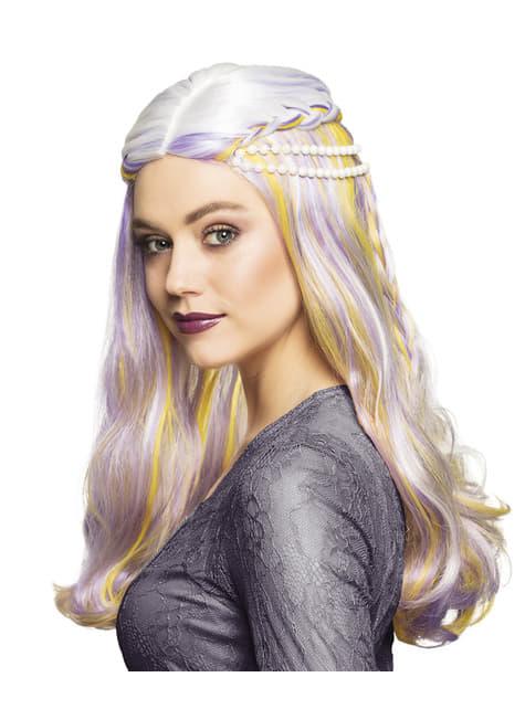 Γουρουνάκι περούκα με μαργαριτάρια για τις γυναίκες