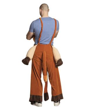 Kamel Ride On Kostüm für Erwachsene