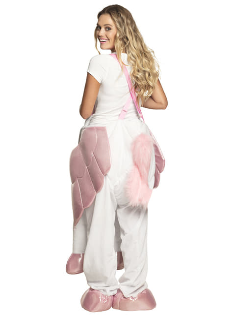 Ride On unicorn costume for adults