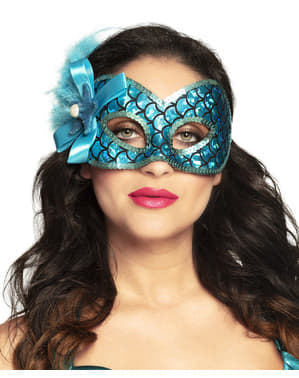 Mermaid eye mask for women
