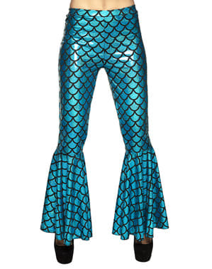 Mermaid trousers for women