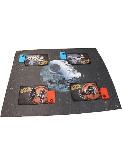 Zestaw Gwiazda Śmierci Obrus, podkładki i serwetki – Star Wars